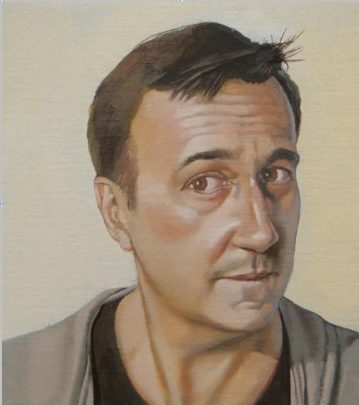 (c) Denis Polge, Portrait de Patrick Mauriès