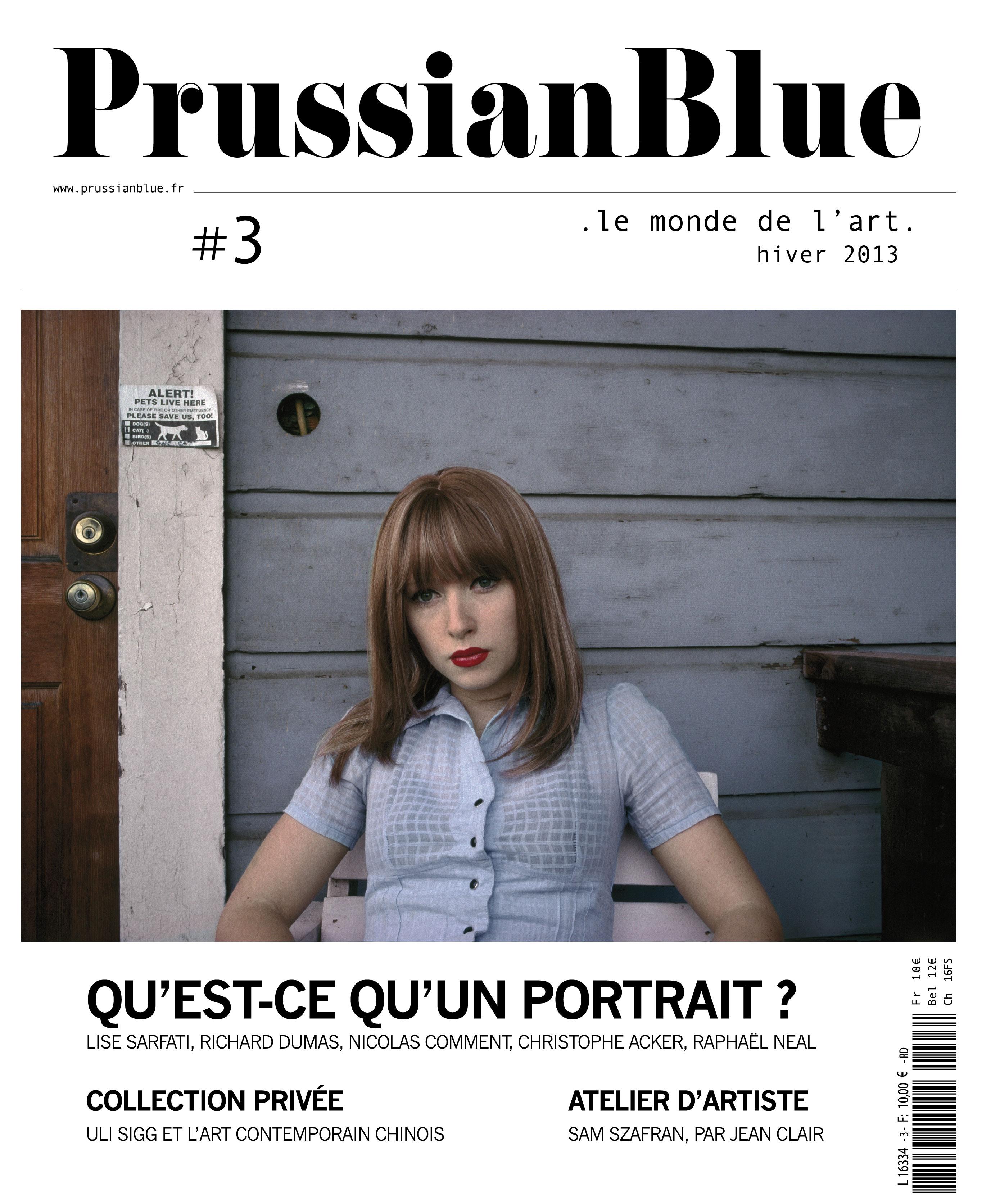 Prussian Blue n°3 : la couv