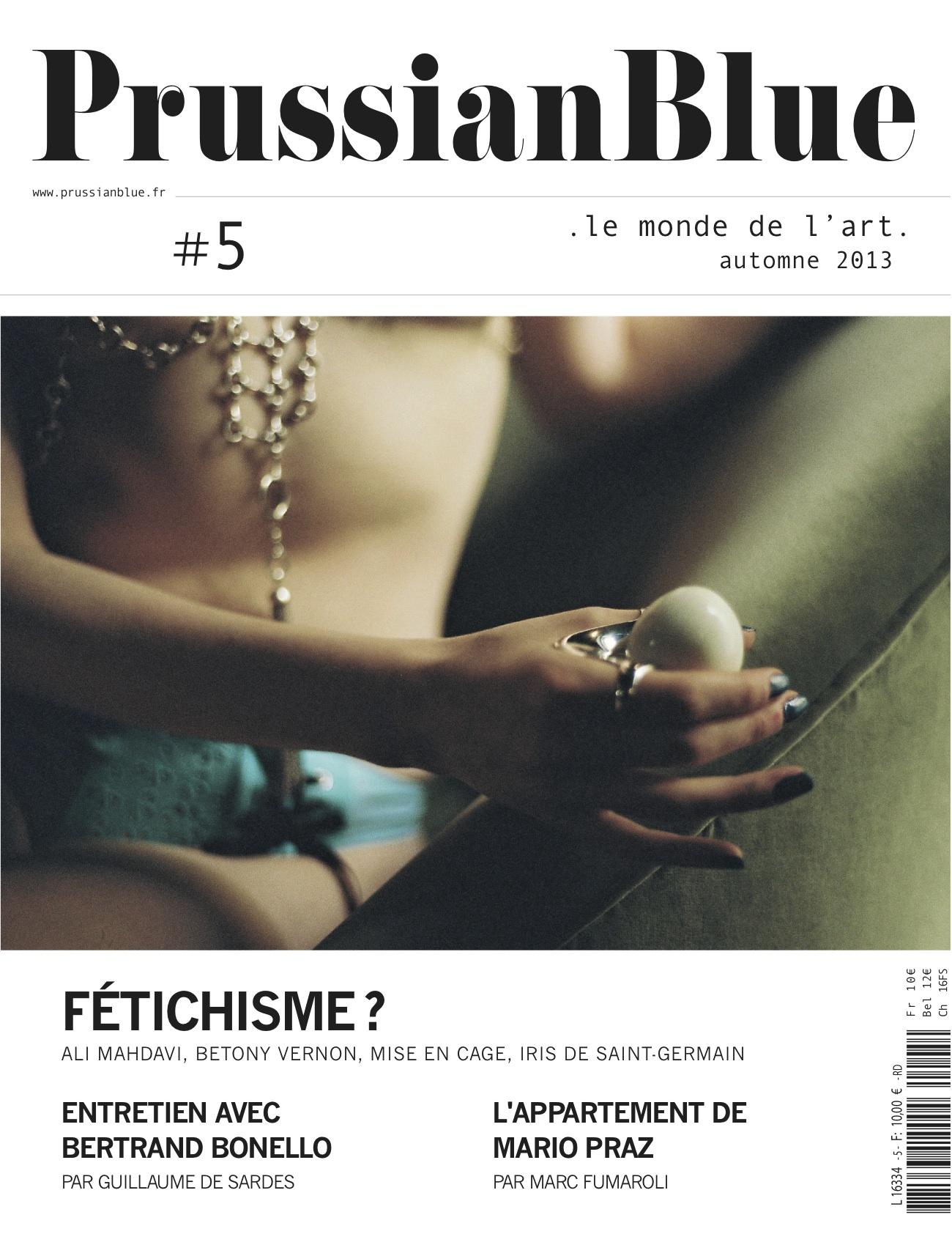 PRUSSIAN BLUE #5 : LE SOMMAIRE
