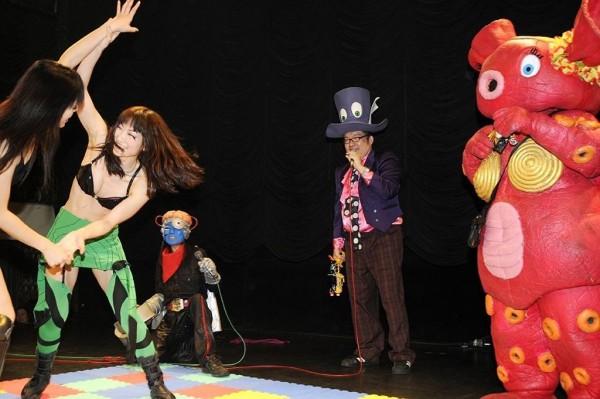match de Joshi Puroresu, 2013, © Ryoichi Keroppy Maeda