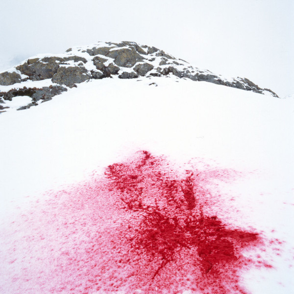 """France, 1991 """"Idols and sacrifices"""", The snow France, 1991 """"Les idoles et les sacrifices"""", La neige   © Bernard Faucon / Agence VU"""