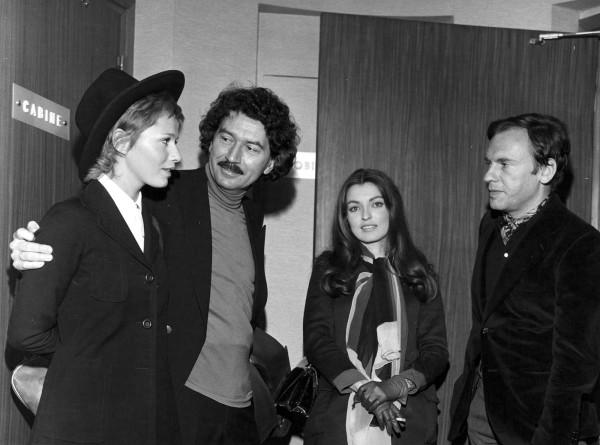 A. Robbe-Grillet avec Catherine Jourdan, Marie-France Pisier et Jean Louis Trintignant