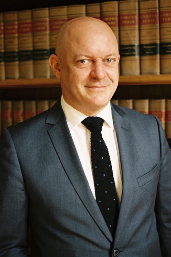François Géry, l'avocat des Wildenstein, à Paris